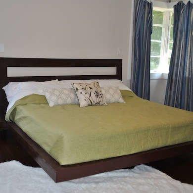 DIY Floating Bed