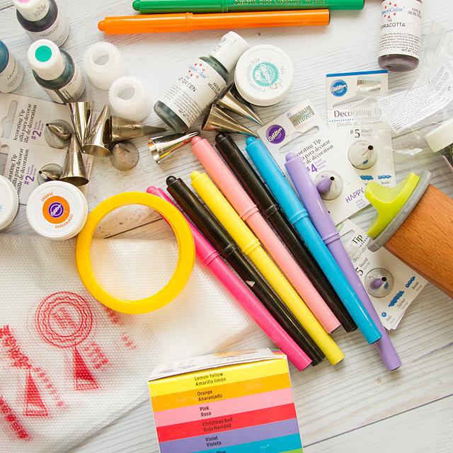 Инструменты для росписи