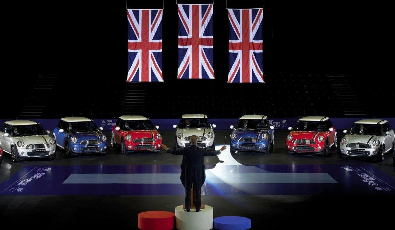 Концерт машин в Великобритании