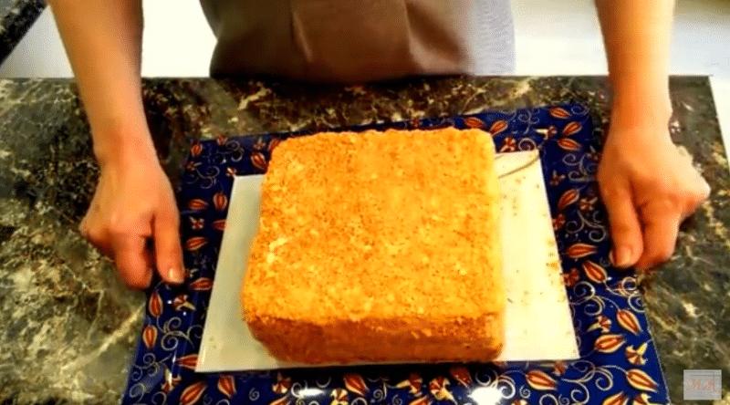 Торт «Наполеон» с готовым слоеным тестом, вкусно и быстро