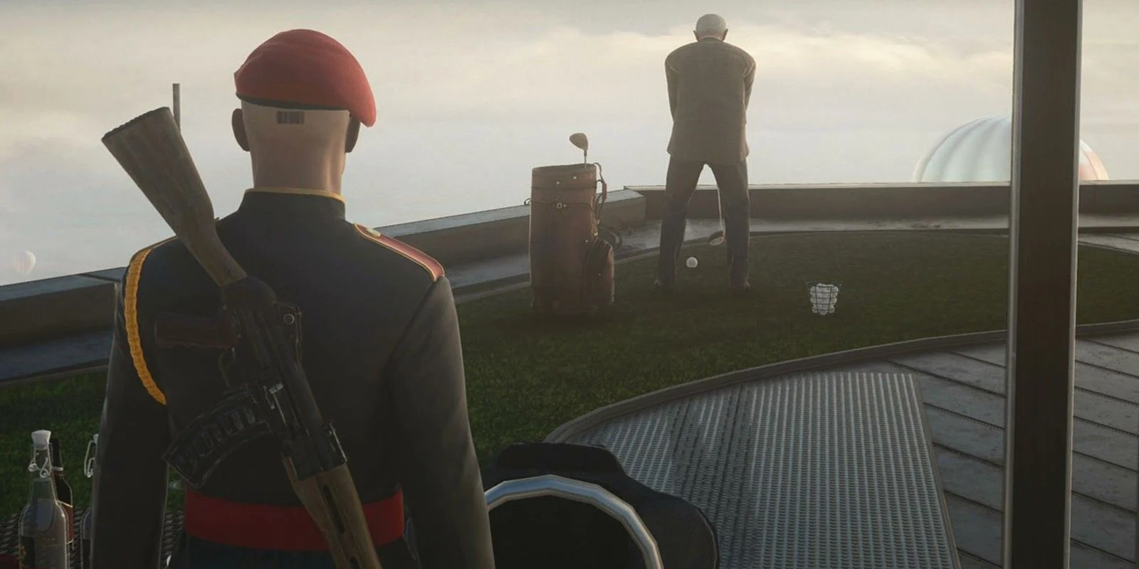 How to get an explosive golf ball in Hitman 3