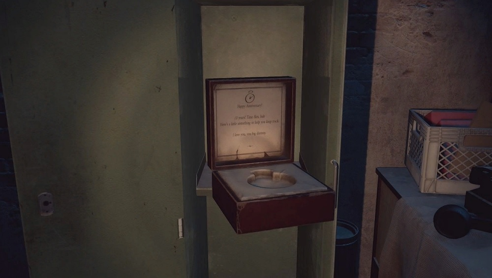 Thomas Pocket Watch Box