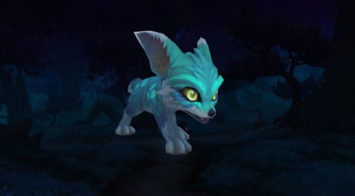 Как получить белого лисёнка (Дар Весифоны) в WoW: Shadowlands